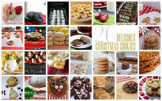 Christmas Cookie Round Up via homework | carolynshomework.com