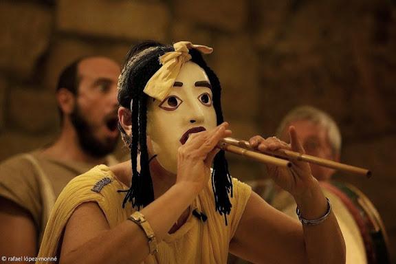 DE MUSICA ANTIQUI NARRABANT. Els homes de l'antiguitat parlen de música.Concert. Ludi Scaenici (Itàlia).  Tàrraco Viva, el festival romà de Tarragona. XVa edició. Tarragona, Tarragonès, Tarragona
