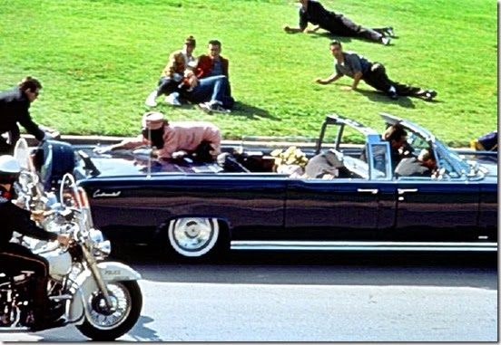 Kennedy shots fired at Limousine