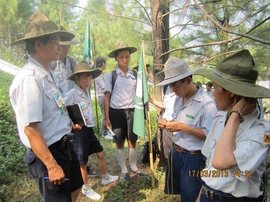 TraiDungThuaThioem2013 22 BHD GĐPT Thừa Thiên tổ chức Trại Dũng năm 2013