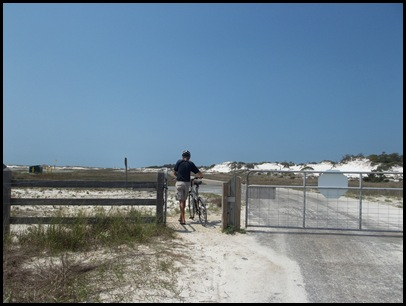 Tuesday biking to St. George Point 340