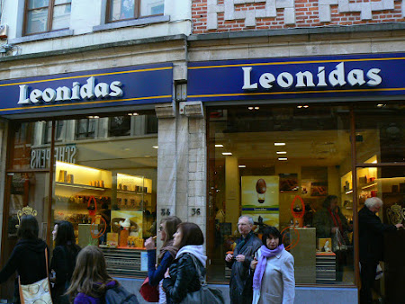 Ciocolata Belgia: ciocolata Leonidas