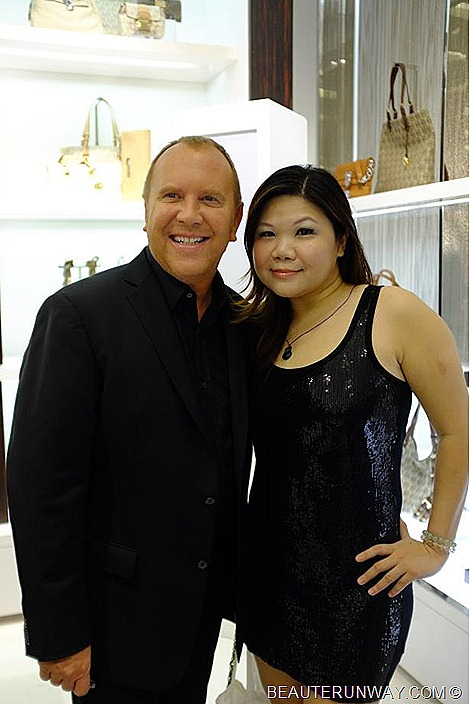 Michael Kors BeauteRunway Singapore Scotts Square Flagship Store
