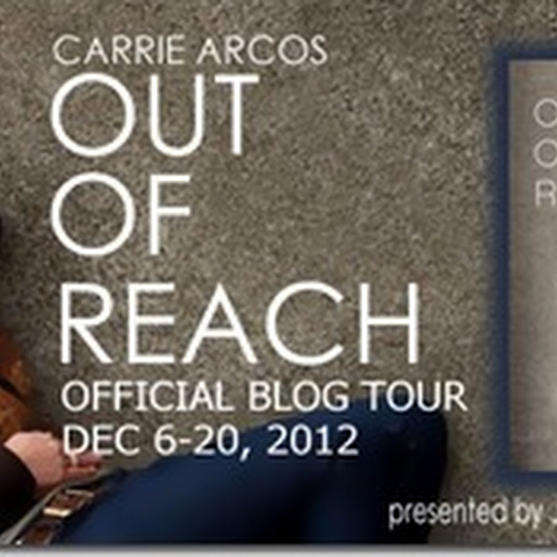 Me My Shelf And I Blog Tour Giveaway Out Of Reach