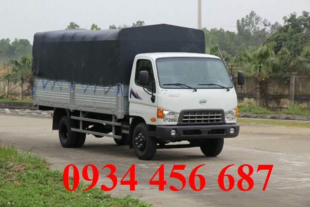 Xe New Mighty 7 tấn Hyundai