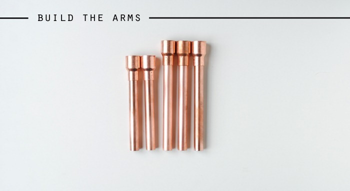 How to Build the Arms Copper Candelabra