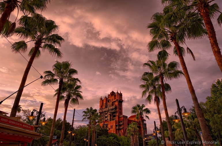 Sunset boulevard by flickr user Express Monorail