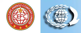 Logo của CEFC China Energy và CAIFC.