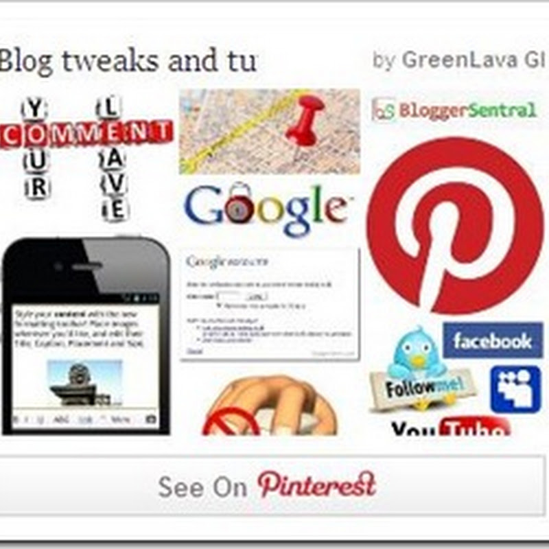 How to show Pinterest Recent Pins On Blog