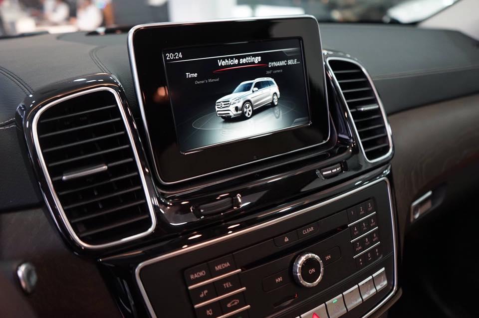 xe Mercedes Benz GLS 400 thế hệ mới 014