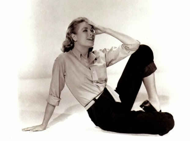 Grace Kelly in trousers