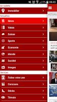Screenshot of Le Nouvelliste en continu