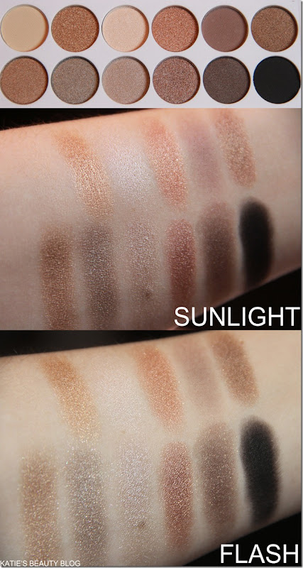 MUA UNDRESS ME SWATCHES