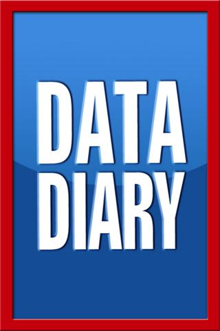 Data Diary - screenshot