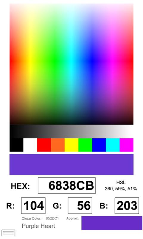 Rockin' Color Picker- screenshot