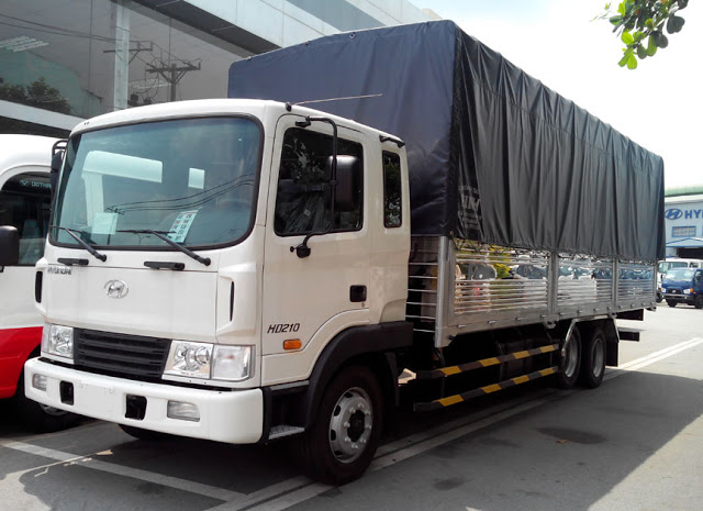 Xe tải Hyundai HD210 thùng bạt