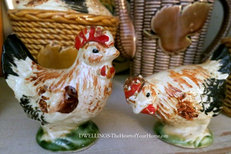 Rooster Salt & Pepper