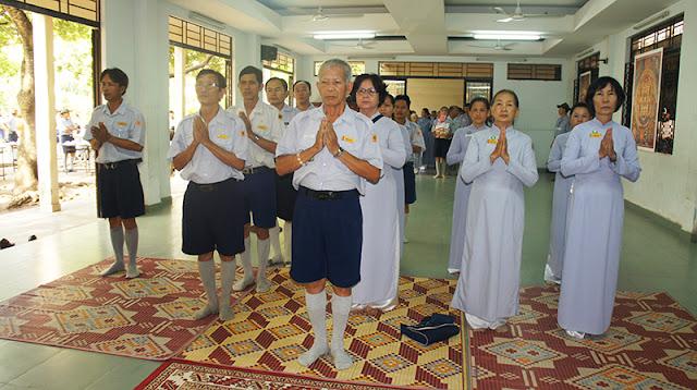 DSC06268 Lễ Hiệp kỵ   Lễ Huý Nhật Cư sĩ Sáng lập viên GĐPT Việt Nam   Tâm Minh Lê Đình Thám