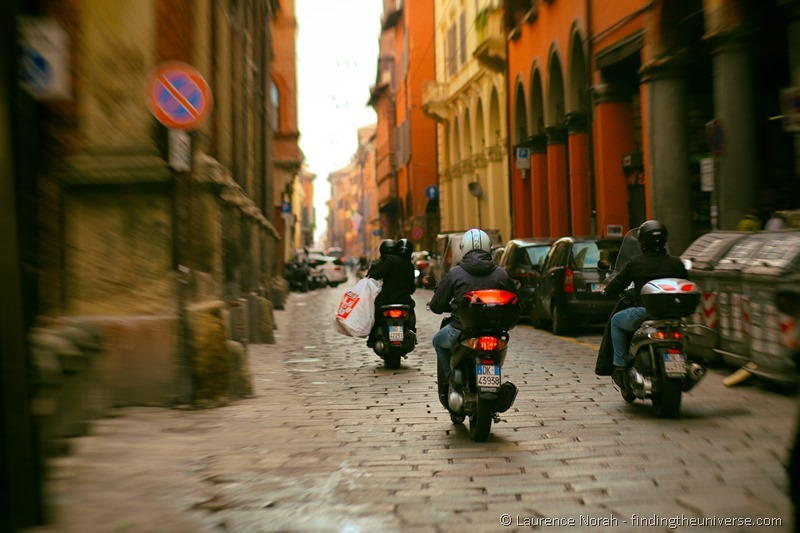 Bologna by scooter
