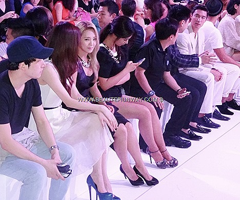 Charles & Keith Girls Generation SNSD Yuri, Seohyun Hyoyeon Soshi K-pop girl band, Daniel Henney Korean Actor, Supermodels Liu Wen Sheila Sim, Zoe Tay, Fann Wong Fashion Show Front Row Singapore Store Opening