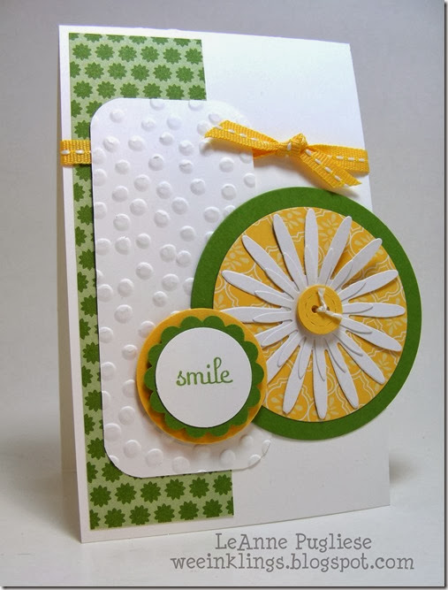 LeAnne Pugliese WeeInklings Mojo Monday Birthday Card Stampin Up