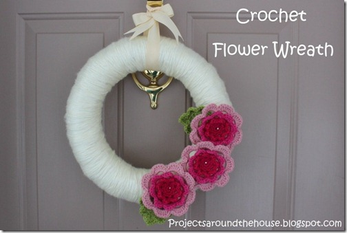crochet wreath