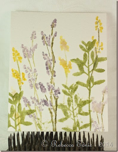 watercolour floral