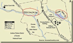 13 Oconee Station map