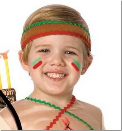 maquillaje de indio apache (3)