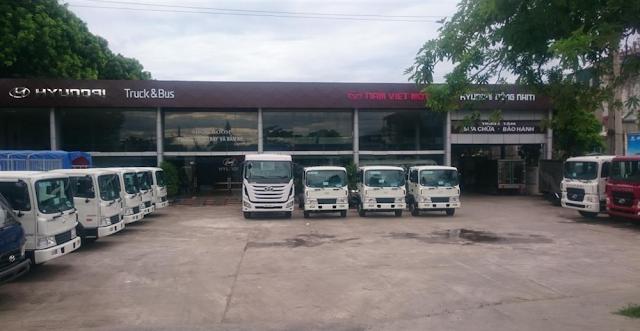 Đại lý xe tải Hyundai Đông Nam