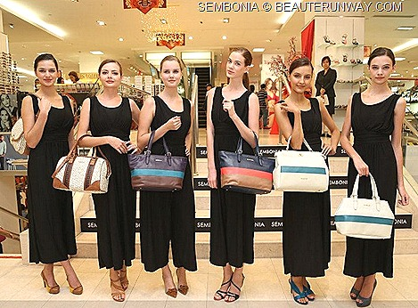 SEMBONIA SPRING SUMMER 2013 HANDBAGS TOTE SHOULDER BAG  LEATHER WALLET ACCESSORIES SHOES FALL WINTER 2012  COLLECTION MINI COUNTRY MAN CAR Singapore, Malaysia, Indonesia, Thailand, vietnam. young, trendy fashion conscious