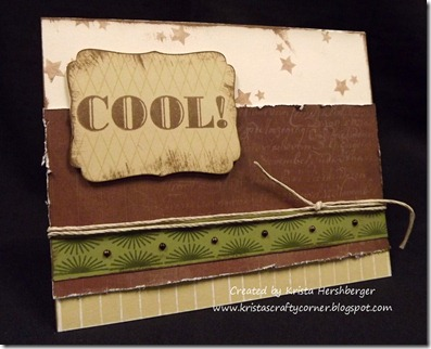 You Are...april sotm cool card