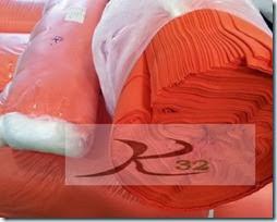 ผ้ายืดสีส้ม1