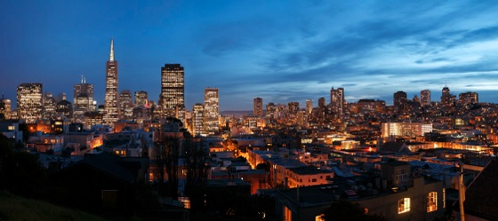 San francisco skyline 9313