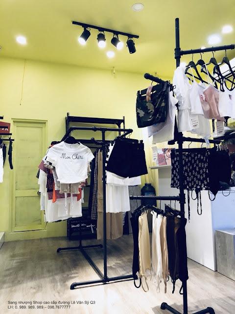Cần Sang gấp Shop hàng hiệu cao cấp đường Lê Văn Sỹ Quận 3-004