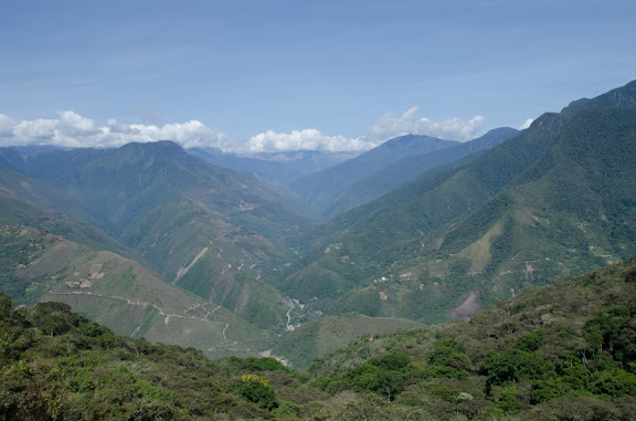 Les Yungas près de Coroico (Bolivie), 18 octobre 2012. Photo : C. Basset