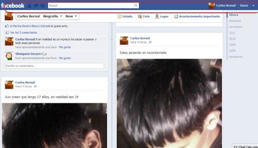 Barra de Facebook siembre visible