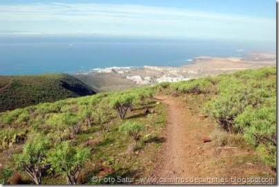 7258 Puerto Las Nieves-Barranco Oscuro(Lomo Cardón Grande)