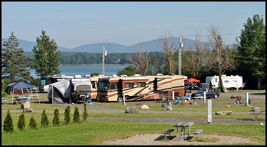 1l2 - Narrows Too Campground - 725 - view of Acadia