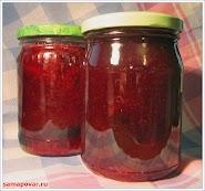 Желе из красной смородины www.samapovar.ru