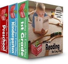 Reading the Easy Way Preschool, Kindergarten, 1st Grade