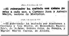 blasfemos 1929