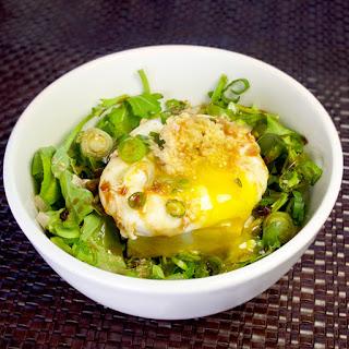 Onsen Tamago Tofu Salad
