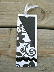 pocket bookmark b&w