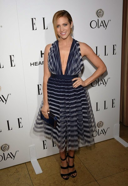 Brittany Snow attends ELLE's Annual Women in Television Celebration