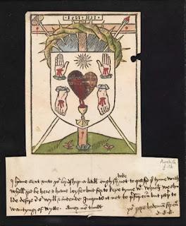 Bức họa cổ xưa nhất mô tả Thánh Tâm