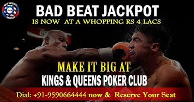 Kings & Queens Poker Club - Bangalore 08/16/2016