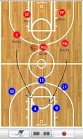 Screenshot of Basketball clipboard lite