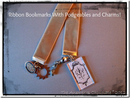 Ribbon and Podgeable Bookmarks