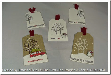 White Christmas, Holiday Home, Amanda Bates, The Craft Spa 022